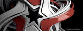 Abstract Chrome Star, Free Facebook Timeline Profile Cover, Abstract