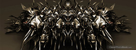 Abstract Dark Metal, Free Facebook Timeline Profile Cover, Abstract