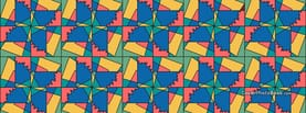 Abstract Squares, Free Facebook Timeline Profile Cover, Abstract