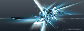 Awesome Abstract Blue Silver, Free Facebook Timeline Profile Cover, Abstract