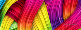 Colorful Hair, Free Facebook Timeline Profile Cover, Abstract