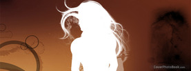 Vector Girl White, Free Facebook Timeline Profile Cover, Abstract