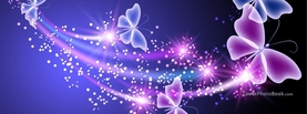 Magic Flying Butterflies, Free Facebook Timeline Profile Cover, Animals