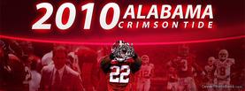2010 Alabama Crimson Tide, Free Facebook Timeline Profile Cover, Brands