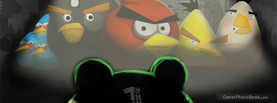 Angry Birds Dark, Free Facebook Timeline Profile Cover, Brands