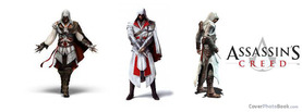 Assassins Creed White, Free Facebook Timeline Profile Cover, Brands