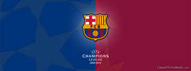 FC Barcelona Champions League, Free Facebook Timeline Profile Cover, Brands