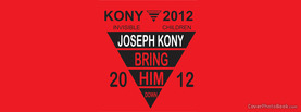 Joseph Kony Bring Down, Free Facebook Timeline Profile Cover, Brands