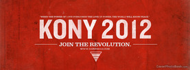 Kony 2012 Join Revolution, Free Facebook Timeline Profile Cover, Brands