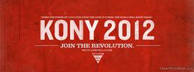 Kony 2012 Join Revolution, Free Facebook Timeline Profile Cover, Brands