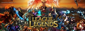 League of Legends Characters Crowd, Free Facebook Timeline Profile Cover, Brands