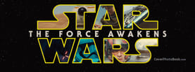 Star Wars The Force Awakens, Free Facebook Timeline Profile Cover, Brands