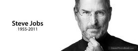 Steve Jobs, Free Facebook Timeline Profile Cover, Brands