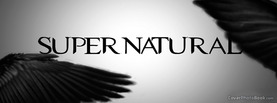 Super Natural Black Wings, Free Facebook Timeline Profile Cover, Brands