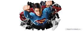 Superman, Free Facebook Timeline Profile Cover, Brands