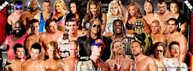 WWE Raw Stars Collage, Free Facebook Timeline Profile Cover, Brands