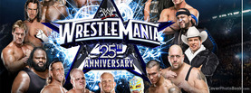 Wrestle Mania 25th Anniversary, Free Facebook Timeline Profile Cover, Brands