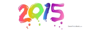 2015 Colorful Painting, Free Facebook Timeline Profile Cover, Celebration