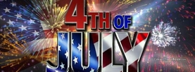 4th of July Independence Day Fireworks, Free Facebook Timeline Profile Cover, Celebration