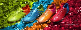 Brazilian Carnival Colorful Boots, Free Facebook Timeline Profile Cover, Celebration