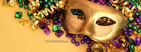 Carnival Mask, Free Facebook Timeline Profile Cover, Celebration