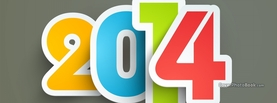 Happy New Year 2014, Free Facebook Timeline Profile Cover, Celebration