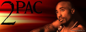 2Pac Sitting, Free Facebook Timeline Profile Cover, Celebrity