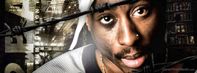2Pac by AkumaDesign, Free Facebook Timeline Profile Cover, Celebrity