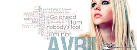 Avril Lavigne Quotes, Free Facebook Timeline Profile Cover, Celebrity
