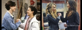 Boy Meets World Best Friends Handshake, Free Facebook Timeline Profile Cover
