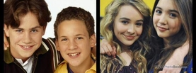 Boy Meets World Best Friends Hug, Free Facebook Timeline Profile Cover, Celebrity