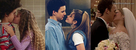 Boy Meets World Cory and Topanga Kisses, Free Facebook Timeline Profile Cover, Celebrity