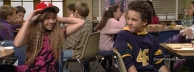 Boy Meets World Cory and Topanga at School, Free Facebook Timeline Profile Cover, Celebrity