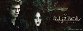 Breaking Dawn The Cullen Family, Free Facebook Timeline Profile Cover, Celebrity