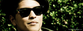 Bruno Mars Shades, Free Facebook Timeline Profile Cover, Celebrity