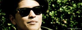 Bruno Mars Shades, Free Facebook Timeline Profile Cover, Celebrity