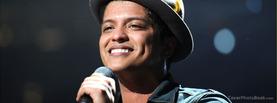 Bruno Mars Sing, Free Facebook Timeline Profile Cover, Celebrity