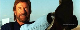Chuck Norris Smiling Sit Boots, Free Facebook Timeline Profile Cover, Celebrity