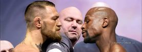 Conor McGregor Floyd Mayweather Jr Dana White, Free Facebook Timeline Profile Cover, Celebrity
