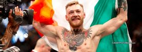 Conor McGregor Smile Irish Flag, Free Facebook Timeline Profile Cover, Celebrity