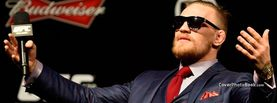 Conor McGregor in Suit Shades, Free Facebook Timeline Profile Cover, Celebrity
