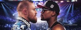 Conor McGregor vs Floyd Mayweather Jr Stare-down, Free Facebook Timeline Profile Cover, Celebrity