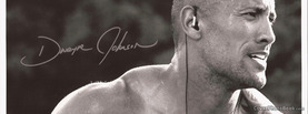 Dwayne Johnson Black White, Free Facebook Timeline Profile Cover, Celebrity