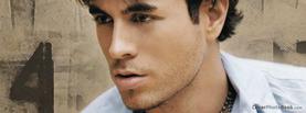 Enrique Iglesias Stare, Free Facebook Timeline Profile Cover, Celebrity