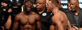 Floyd Mayweather Jr Laughing Conor McGregor Weigh-in, Free Facebook Timeline Profile Cover, Celebrity