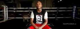 Floyd Mayweather Sitting Alone in Ring, Free Facebook Timeline Profile Cover, Celebrity