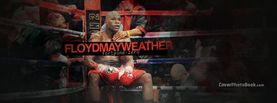 Floyd Mayweather Sitting Resting in Corner, Free Facebook Timeline Profile Cover, Celebrity