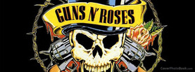 Guns N Roses Logo, Free Facebook Timeline Profile Cover, Celebrity