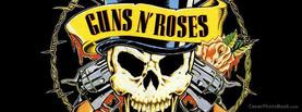 Guns N Roses Logo, Free Facebook Timeline Profile Cover, Celebrity
