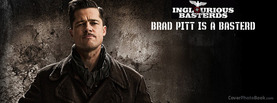 Inglourious Basterds Brad Pitt, Free Facebook Timeline Profile Cover, Celebrity